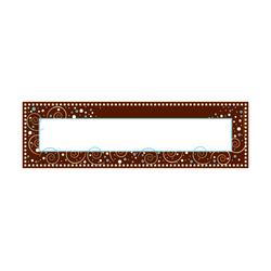 "Barker Creek Single-Sided Desk Tags/Bulletin Board Signs, 12"" x 3 1/2"", Hot Dot, Pre-K To Grade 6, Pack Of 36"