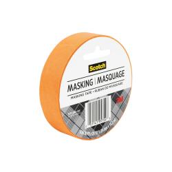 "Scotch® Decorative Masking Tape, 1"" x 20 Yd., Orange"