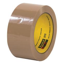 """3M® 372 Carton Sealing Tape, 2"""" x 55 Yd., Tan, Case Of 36"""