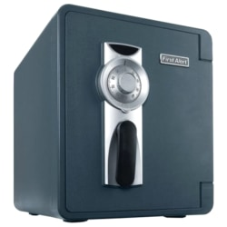 """First Alert 2092F-BD Security Safe - 1.30 ft³ - Combination Lock - 4 Live-locking Bolt(s) - Water Proof, Fire Resistant, Pry Resistant - Internal Size 13.63"""" x 13.25"""" x 12.50"""" - Slate"""