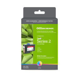 Office Depot® Brand OD745 (Dell Series 2) Remanufactured Tricolor Ink Cartridge