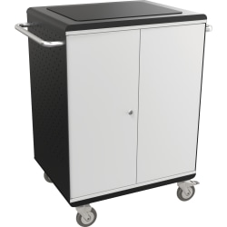 "Balt La Cart Tablet Security And Charging Cart, 36 3/4""H x 31 3/4""W x 20 1/8""D, Charcoal"
