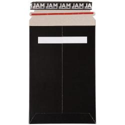 "JAM Paper® Photo Mailer Envelope, 6"" x 9"", 100% Recycled, Black"