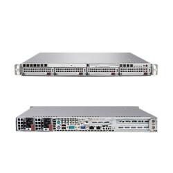 Supermicro A+ Server 1021M-UR+V Barebone System - nVIDIA MCP55 Pro - Socket F (1207) - Opteron (Dual-core) - 1000MHz Bus Speed - 64GB Memory Support - DVD-Reader (DVD-ROM) - Gigabit Ethernet - 1U Rack