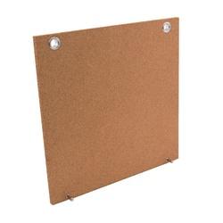 """See Jane Work® Cork Bulletin Board Panel, 12"""" x 1 3/16"""", Tan Finish Frame"""