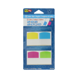 """Redi-Tag® Removable Index Tabs, Assorted Colors, 1 1/16"""" x 1 1/4"""", Pack Of 48"""
