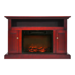 Cambridge Sorrento Fireplace Mantel with Electronic Fireplace Insert - Indoor - Freestanding