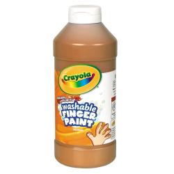 Crayola® Washable Finger Paint, 16 Oz., Brown