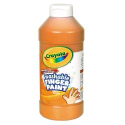 Crayola® Washable Finger Paint, 16 Oz., Orange
