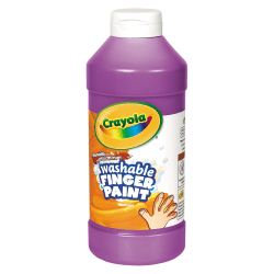 Crayola® Washable Finger Paint, 16 Oz., Violet