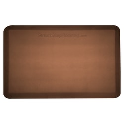"Smart Step Supreme Premium Anti-Fatigue Mat, 36"" x 24"", Brown"