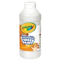 Crayola® Washable Finger Paint, 16 Oz., White