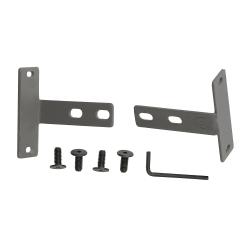 Bush Business Furniture ProPanels Wall Starter Kit, Light Gray/Slate, Standard Delivery