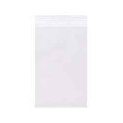 "JAM Paper® Self-Adhesive Cello Sleeve Envelopes, 6 1/4"" x 9 5/8"", Clear, Pack Of 100"