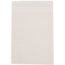 "JAM Paper® Self-Adhesive Cello Sleeve Envelopes, 8 15/16"" x 11 1/4"", Clear, Pack Of 100"