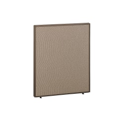 """Bush Business FurnitureProPanels, 42 7/8""""H x 36""""W x1 3/4""""D, Taupe/Tan, Standard Delivery"""
