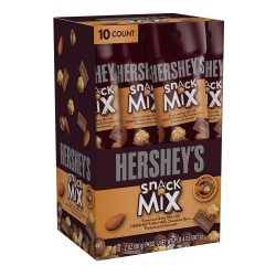 Hershey's® Snack Mix Tubes, 2 Oz, Pack Of 10