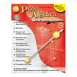 Mark Twain Daily Skill Builders Pre-Algebra, Grades 6 - 12