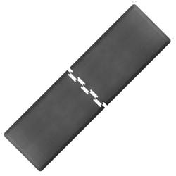 Smart Step Supreme Puzzle Runner 2-Piece Mat Set, 9 1/2'L x 3'W (Assembled), Gray