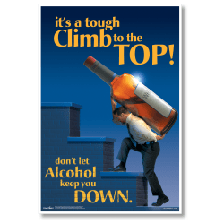 "ComplyRight Substance Abuse Poster, Alcohol Impairment, English, 15"" x 22"""