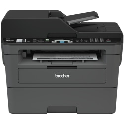 Brother MFC Wireless Monochrome Laser All-in-One Printer, Scanner, Copier, Fax, MFC-L2710DW