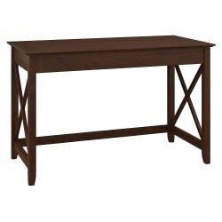 "Bush Furniture Key West Writing Desk, 48""W, Bing Cherry, Standard Delivery"