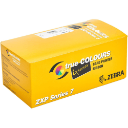 Zebra Ribbon - YMCKO - Dye Sublimation, Thermal Transfer - 280 Images