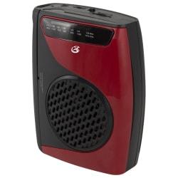"iLive Electronics Cassette Player With AM/FM Radio, 4.72""H x 1.57""W x 3.54""D"
