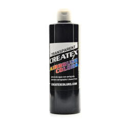 Createx Airbrush Colors, Transparent, 16 Oz, Black