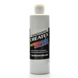 Createx Airbrush Colors, Transparent, 16 Oz, White