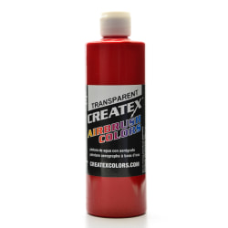 Createx Airbrush Colors, Transparent, 16 Oz, Brite Red