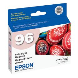 Epson® 96, (T096620) UltraChrome™ K3 Vivid Light Magenta Ink Cartridge