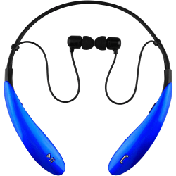 IQ Sound Wireless Bluetooth® In-Ear Headphones, Blue