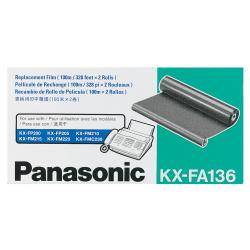 Panasonic® KX-FA136 Black Imaging Film Refills, Pack Of 2