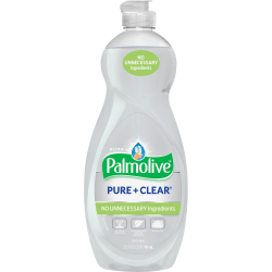 Palmolive Ultra Palmolive Pure/Clear Dish Liquid - Concentrate Liquid - 32.5 fl oz (1 quart) - 1 Each - White