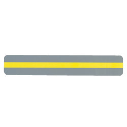 """Ashley Productions Reading Guide Strips, 1 1/4"""" x 7 1/4"""", Yellow, Pack Of 24"""