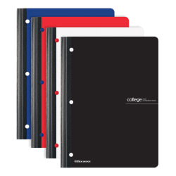 "Office Depot® Brand Composition Notebook, 8 1/2"" x 11"", College Ruled, 160 Pages (80 Sheets), Assorted Colors"