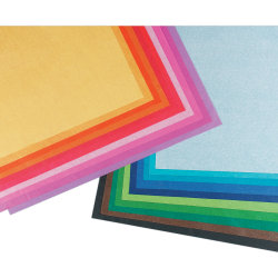 "Pacon® Spectra® Assorted Color Tissue Pack, 20"" x 30"", 20 Colors, Pack Of 100 Sheets"
