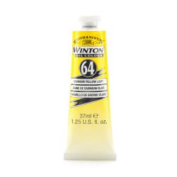 Winsor & Newton Winton Oil Colors, 37 mL, Cadmium Yellow Light, Pack Of 2