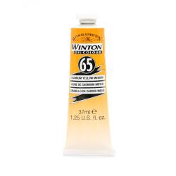 Winsor & Newton Winton Oil Colors, 37 mL, Cadmium Yellow Medium, Pack Of 2