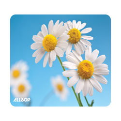"Allsop® Naturesmart Mouse Pad, 9"" x 10"", Daisy"