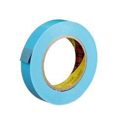 "3M® 8898 Tensilized Poly Strapping Tape, 3/4"" x 60 Yd., Blue, Case Of 12"