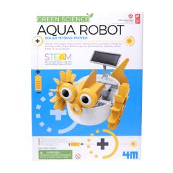 4M Green Science Aqua Robot Solar Hybrid Power Robotics STEAM Kit