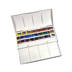 Winsor & Newton Cotman Watercolor Studio Set, Set Of 24