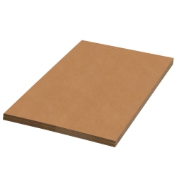 """Office Depot® Brand Corrugated Sheets, 18"""" x 14"""", Kraft, Pack Of 50"""