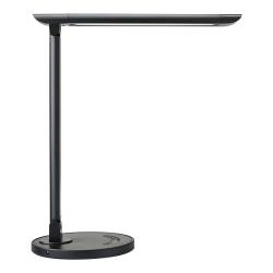 "Realspace™ LED USB Desk Lamp, 15-13/16""H, Black"