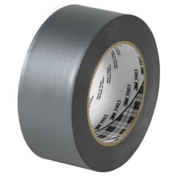 "3M™ 3903 Duct Tape, 2"" x 50 Yd., Silver, Case Of 3"