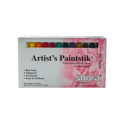Shiva Artist's Paintstik Oil Color Set, Student Set, Set Of 12