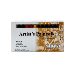 Shiva Artist's Paintstik Oil Color Set, Professional Set, Set Of 12