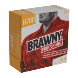 Brawny Heavy Duty Industrial Wipes, Box Of 100